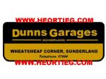Dunns Garages Sunderland Motorcycles Dealer Decals Transfers DDQ113